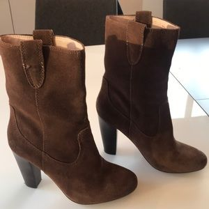 Plenty by Tracy Reece Suede mid calf boots!